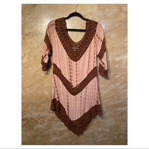 Live 2 Love crocheted dress
